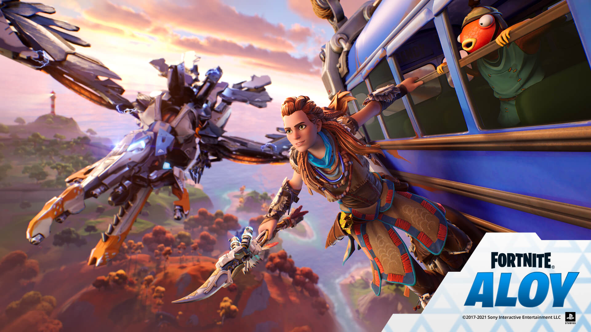 Aloy From Horizon Zero Dawn Joins Fortnite's Roster Of Collab Characters