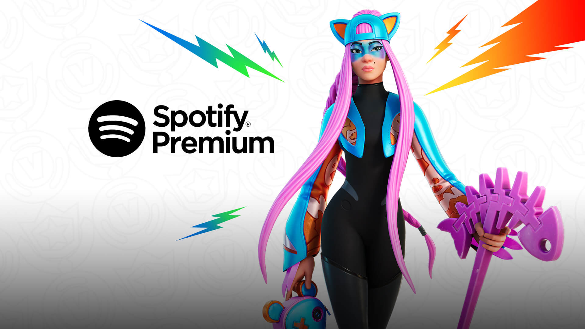Get 3 Months Of Spotify Premium From The Fortnite Crew!