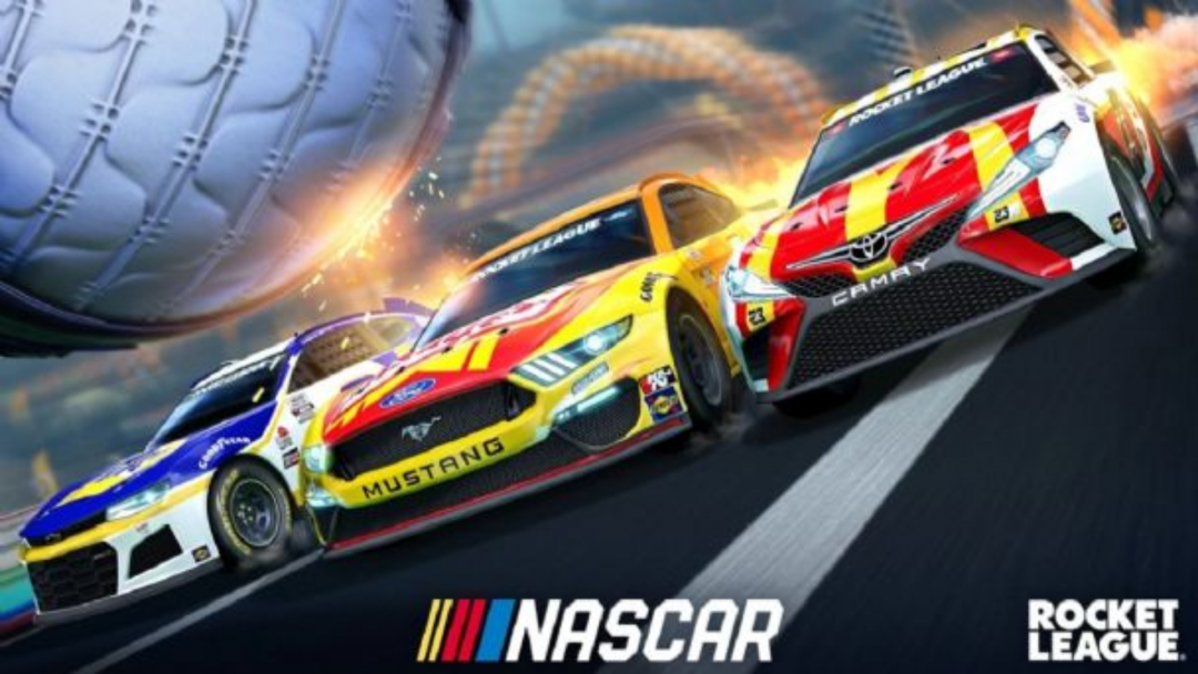 Rocket League Is Teaming Up With NASCAR For A New Fan Pack