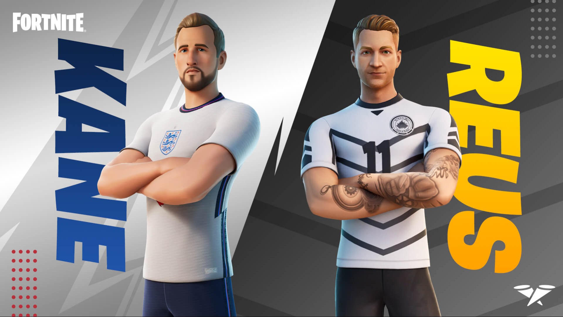 Fortnite: Battle Royale – Kane And Reus Outfits On Their Way!