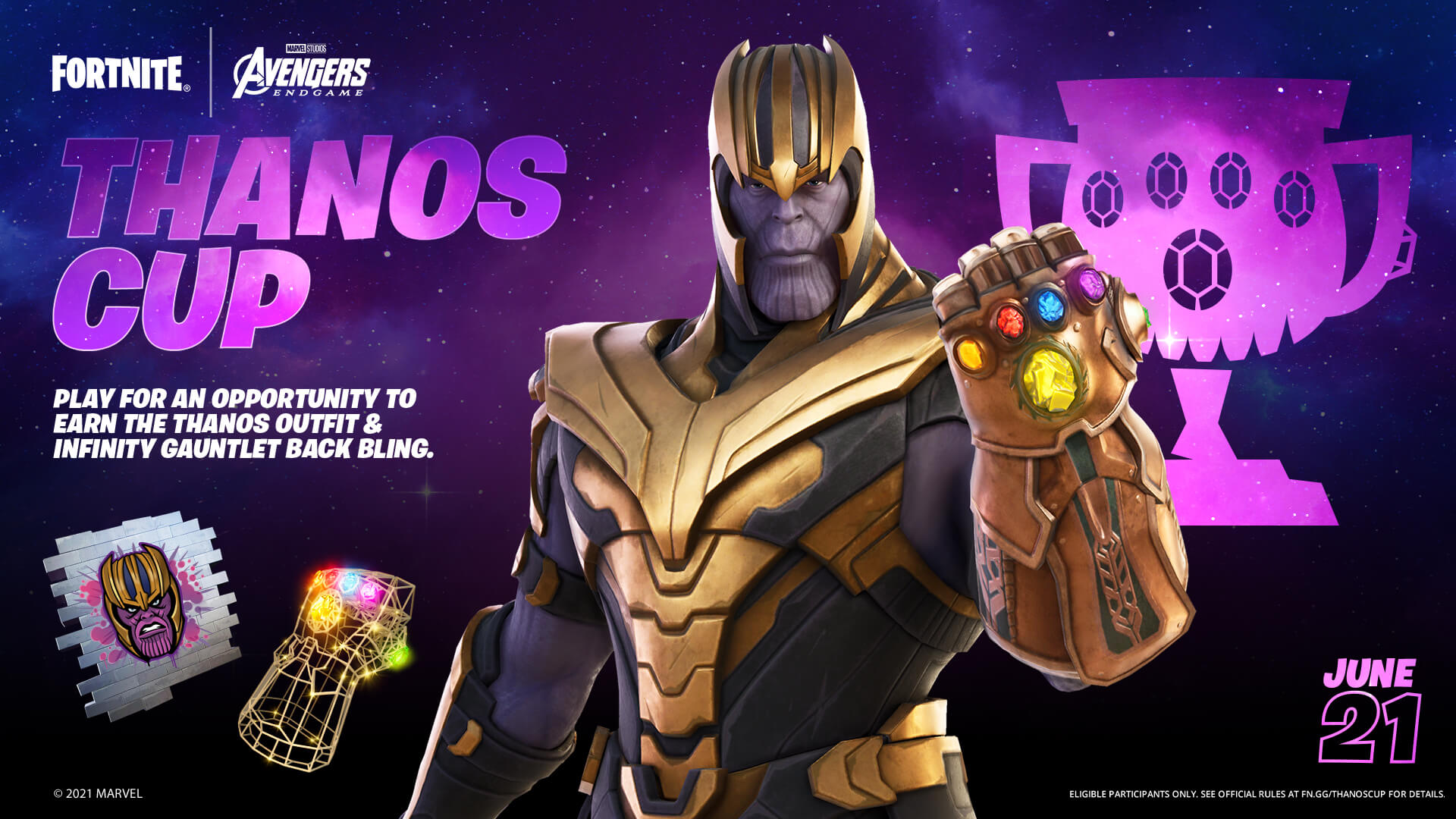 Yes, Thanos is Returning To Fortnite As A Cosmetic Outfit