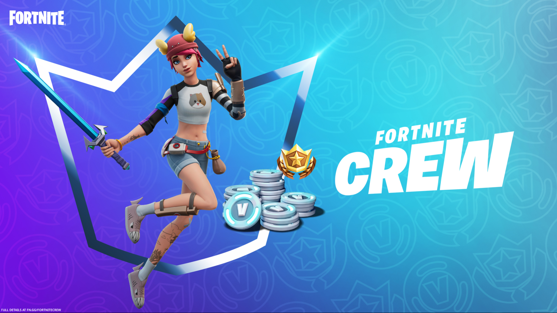 The August 2021 Fortnite Crew Pack Has Been Revealed, With Summer Skye As The New Outfit