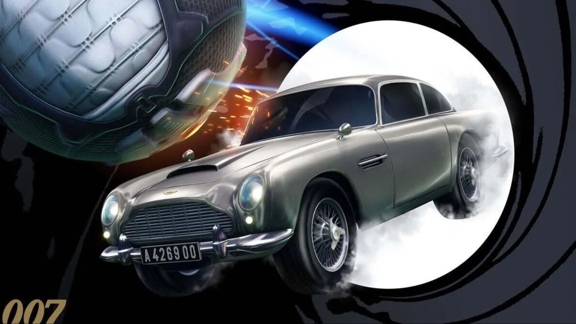 The 007 Aston Martin Is Coming To Rocket League!