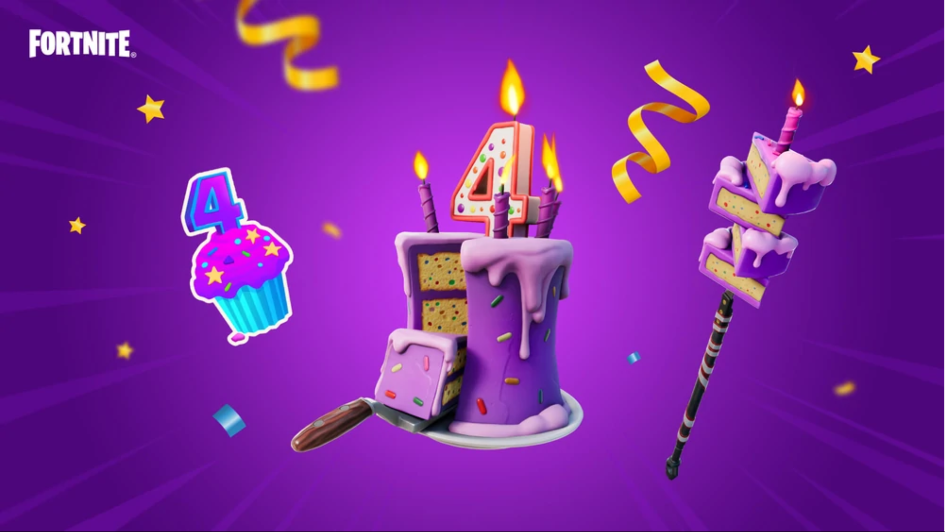 Fortnite: Battle Royale – 4th Birthday Punchcard Guide